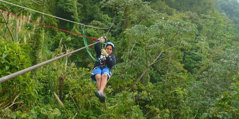 Adventure Canopy Tour La Fortuna