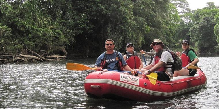 Safari Float Tour Peñas Blancas River