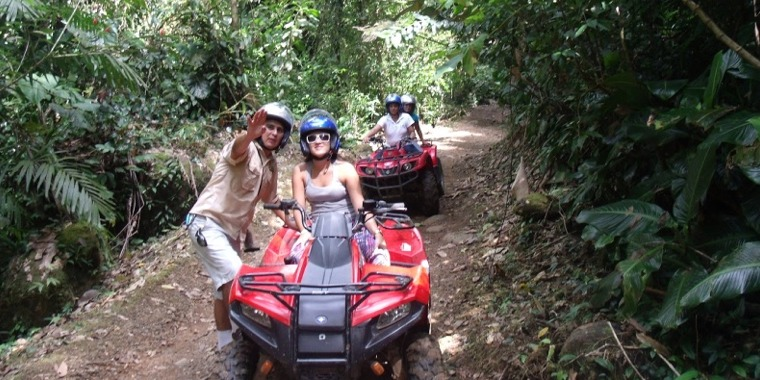 Arenal Quadbike Tour in La Fortuna