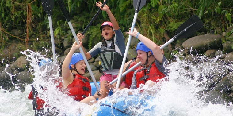 Rafting Tour from La Fortuna
